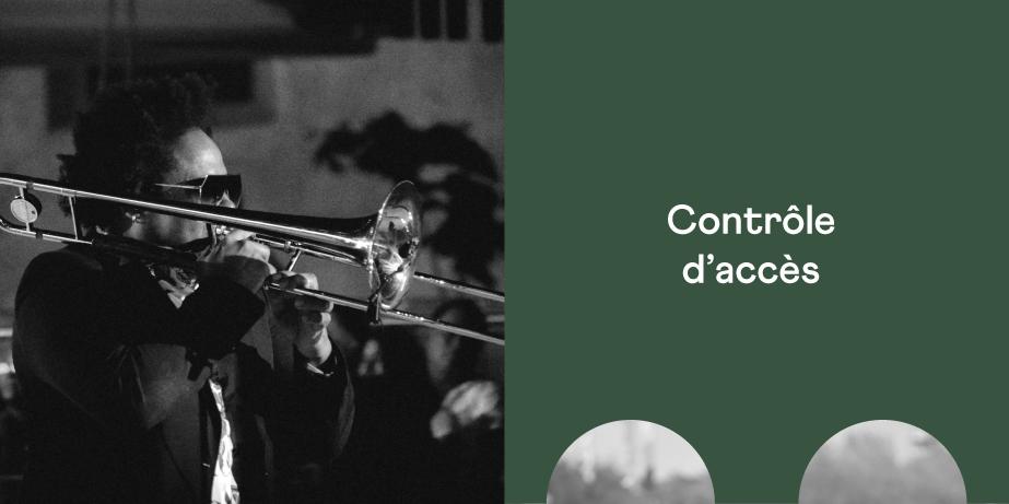 Solution de contrôle d'accès pour les événements - Festik